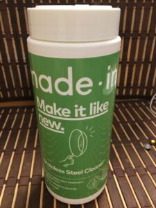 made in - stainless steel cleaner