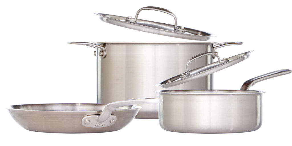 stainless steel vs nonstick made in cookware