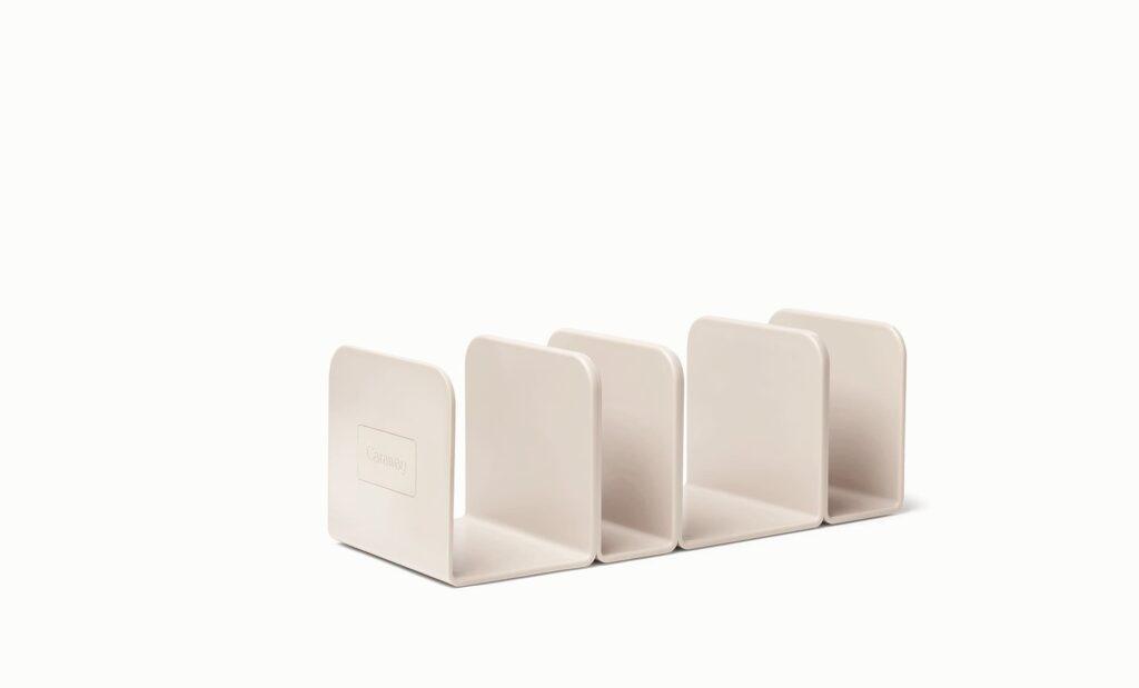 Caraway Ceramic cookware storage system