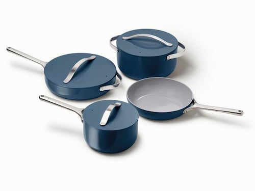 One of the safest cookware - ceramic coated Caraway cookware